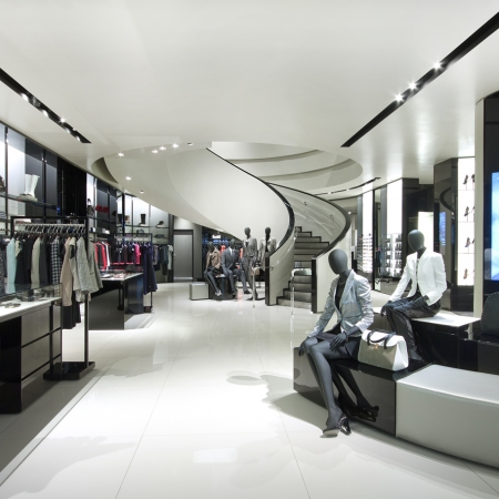Georgio Design Bank.Armani Oak Street Retail Antunovich Associates